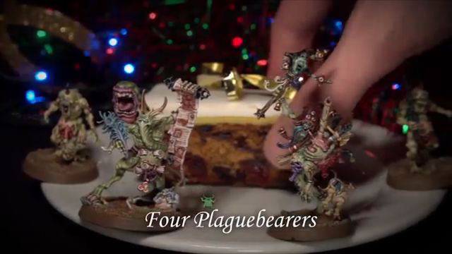 New Models Spotted: On the first day of Christmas, Nurgle gave to me…