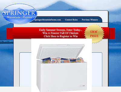 Win a Freezer full of Chicken