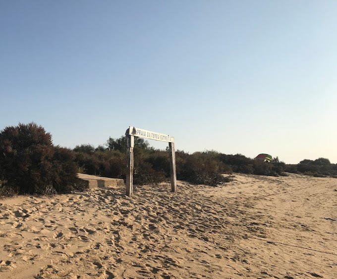La playa de Terra Estreita