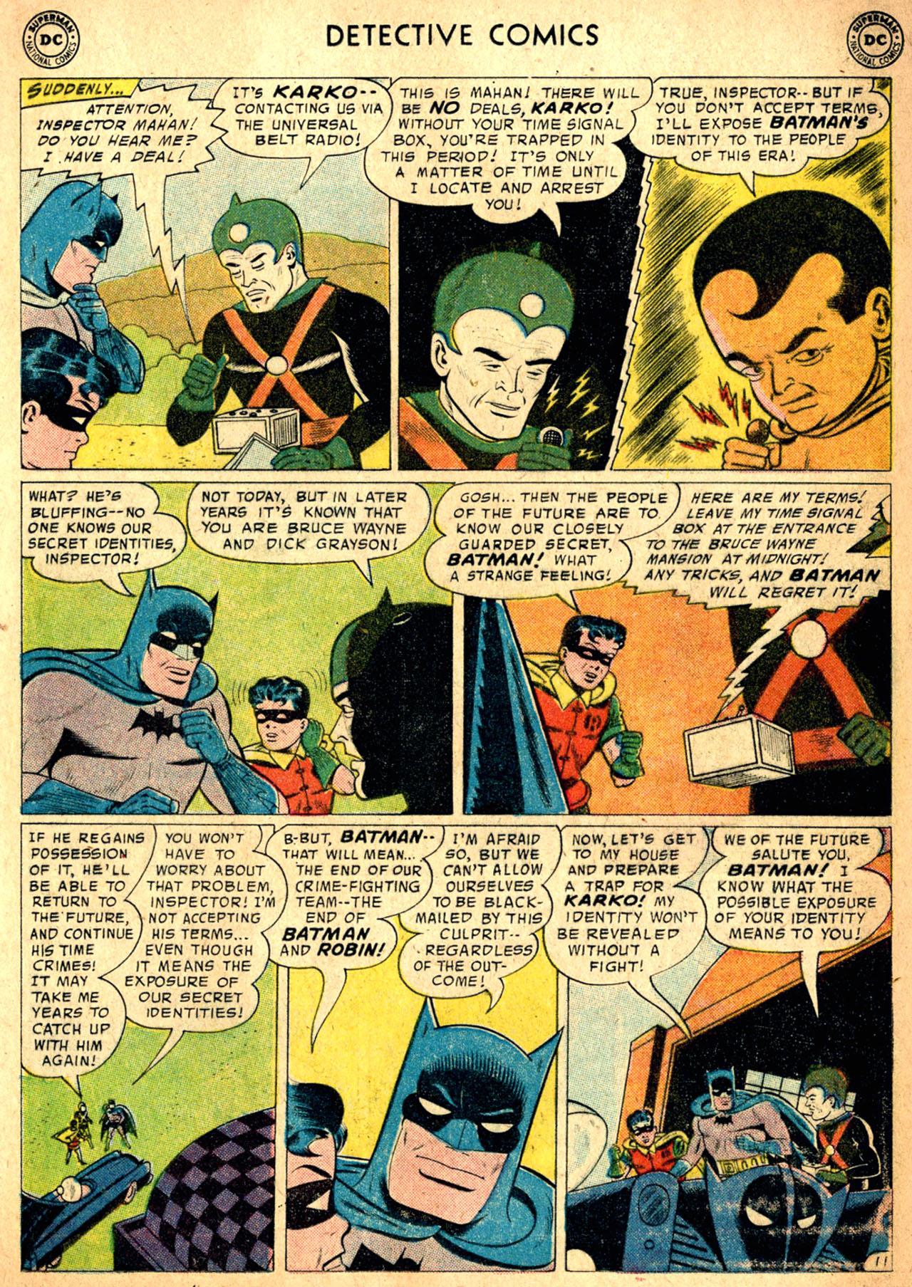 Read online Detective Comics (1937) comic -  Issue #257 - 13