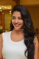 Daksha Nagarkar Cute Beauty in Sleeveless White Dress at Khwaaish Exhibition Launch 2017 ~  Exclusive 039.JPG
