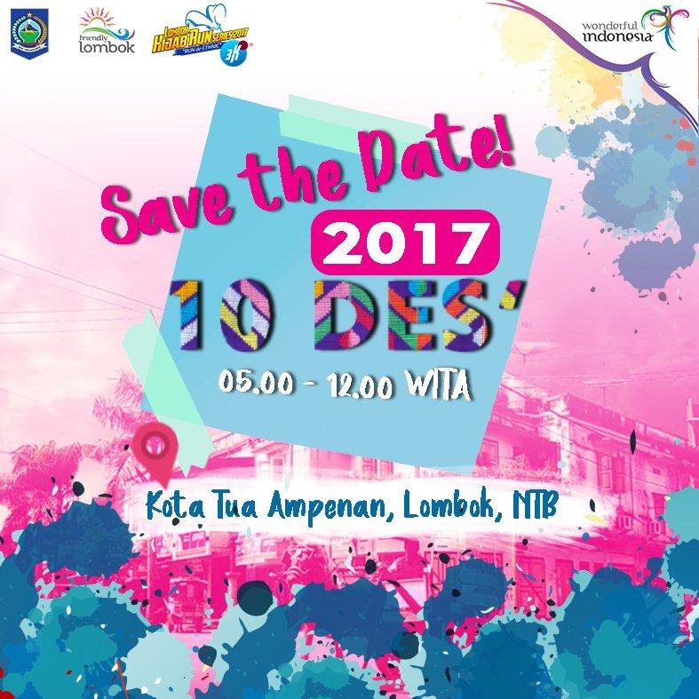 Lombok Hijab Run • 2017