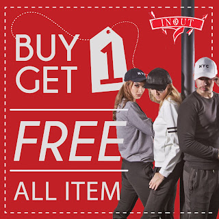 promo buy 1 get 1 in out clothing