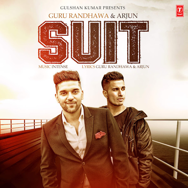 Guru Randhawa - Suit - Single Cover