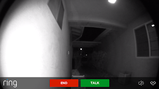 image of ring doorbell camera view at night 3