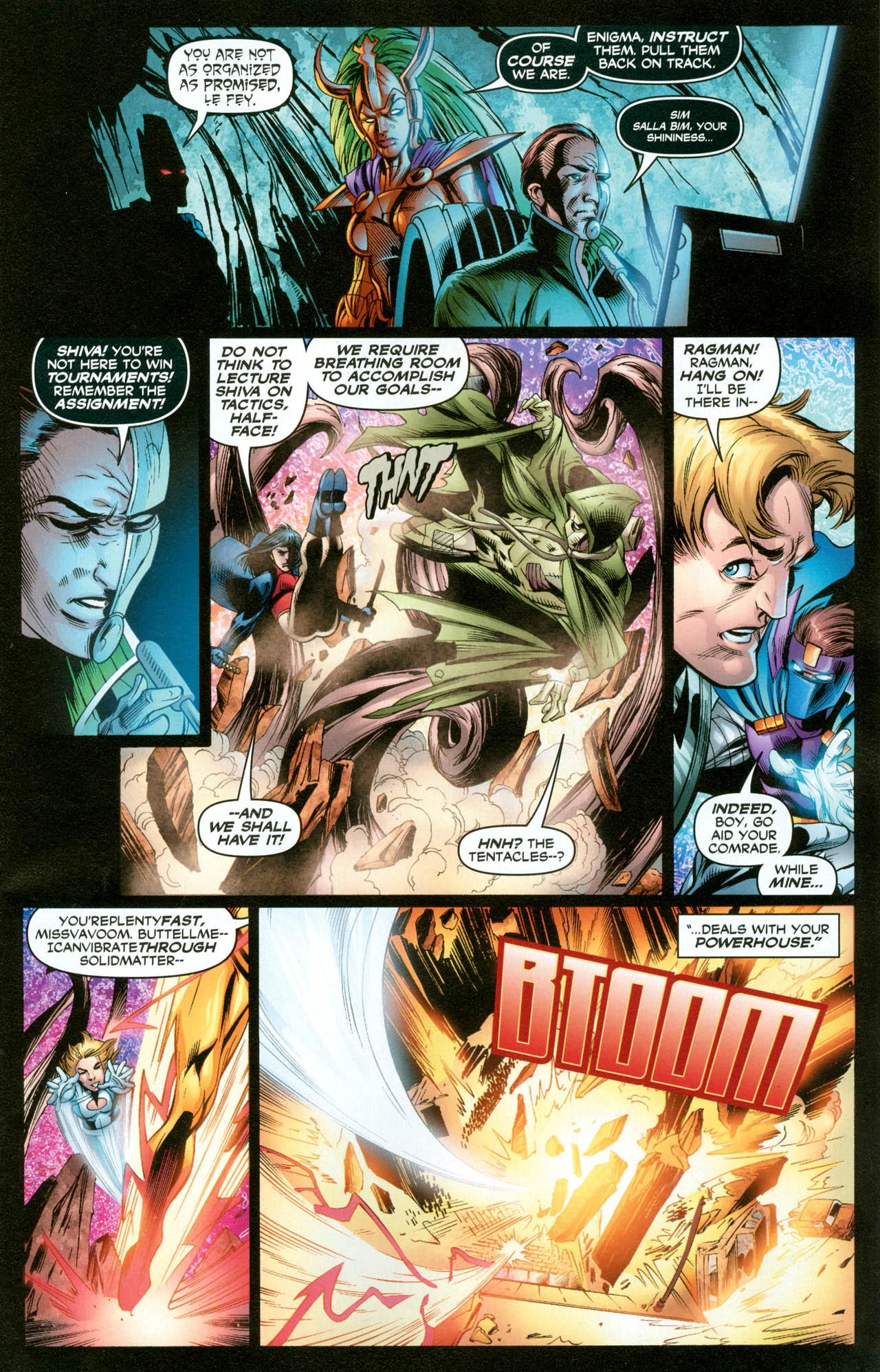 Read online Trinity (2008) comic -  Issue #31 - 12