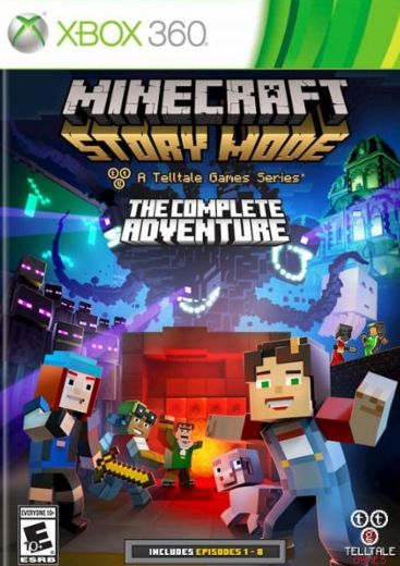 Minecraft Story Mode The Complete Adventure [Jtag/RGH
