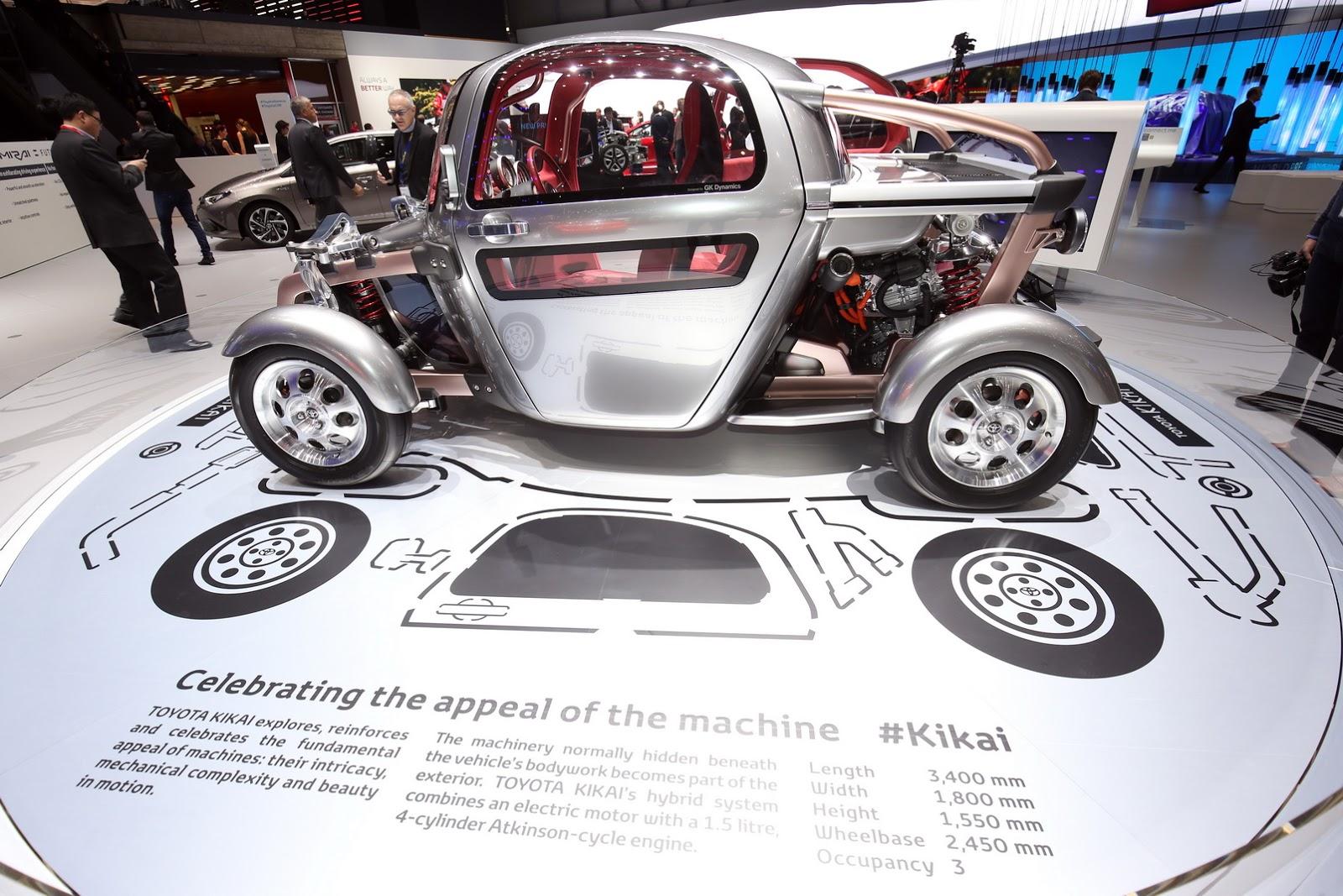 Toyota Kikai Concept là gì? Hiếm ai có thể hiểu được nó!