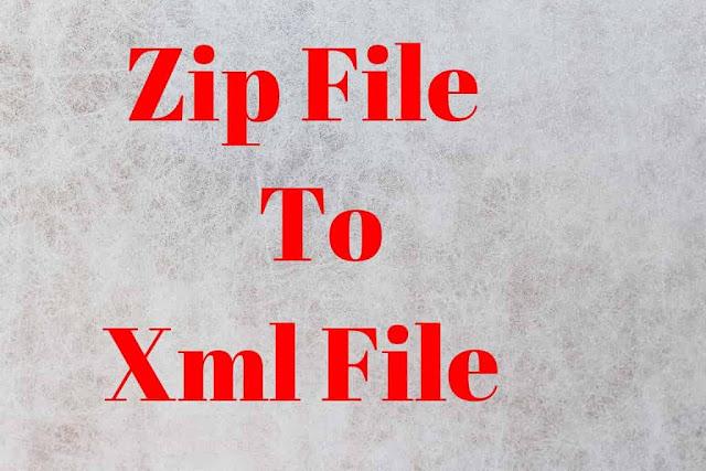 Blogger Template को  Zip File Se Xml File मे  Convert कैसे करे