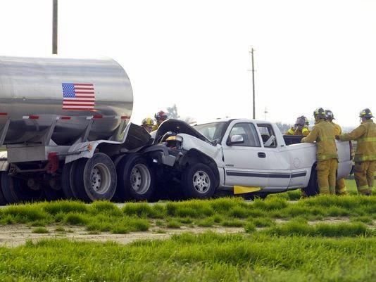 visalia highway 198 big rig pickup crash fatality joseph oliveira