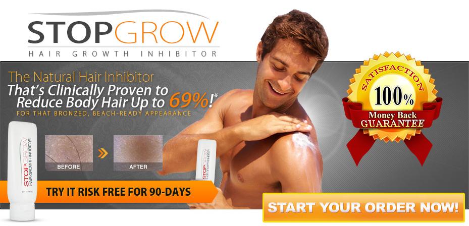 Stop Grow - Natural Hair Inhibitor - International (Men-Women)