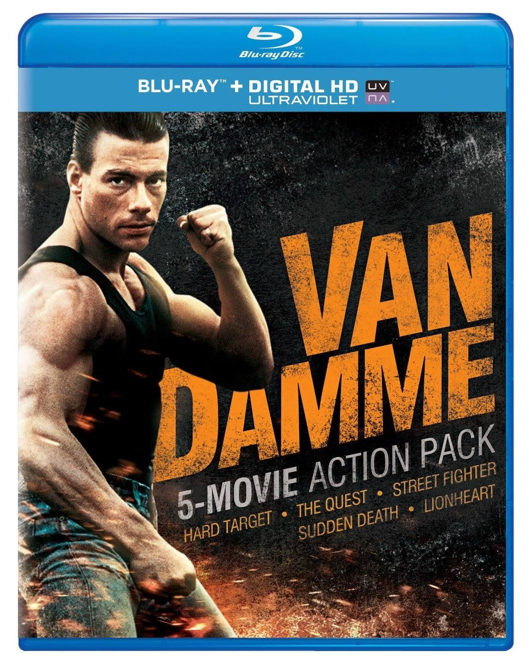 Musica y Peliculas : Van Damme 5 Movie Action Pack (Blu ray