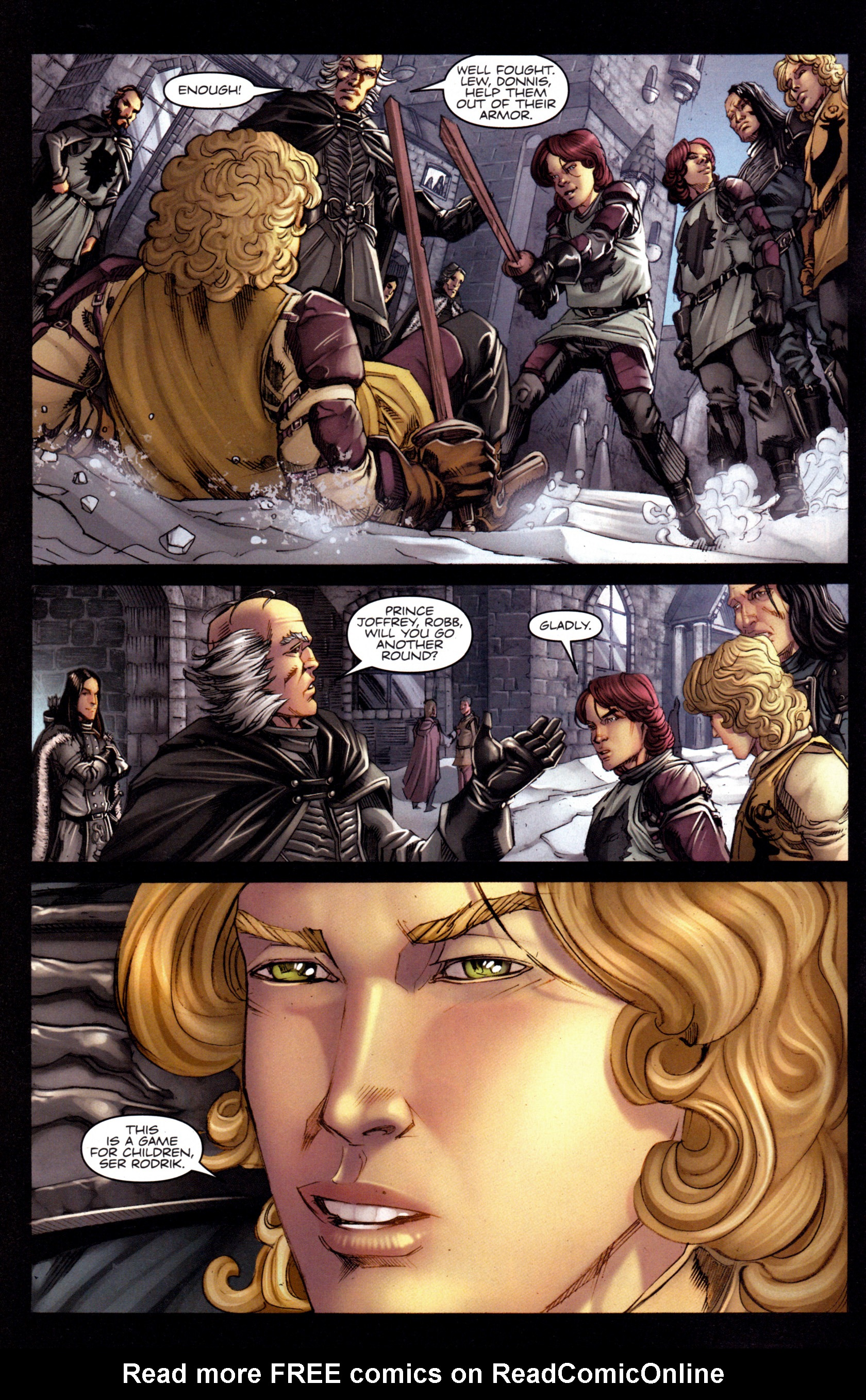 Read online A Game Of Thrones comic -  Issue #3 - 8