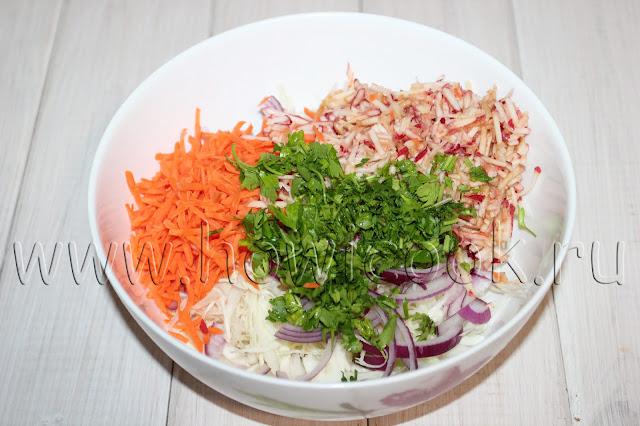рецепт салата колслоу от джейми оливера с пошаговыми фото