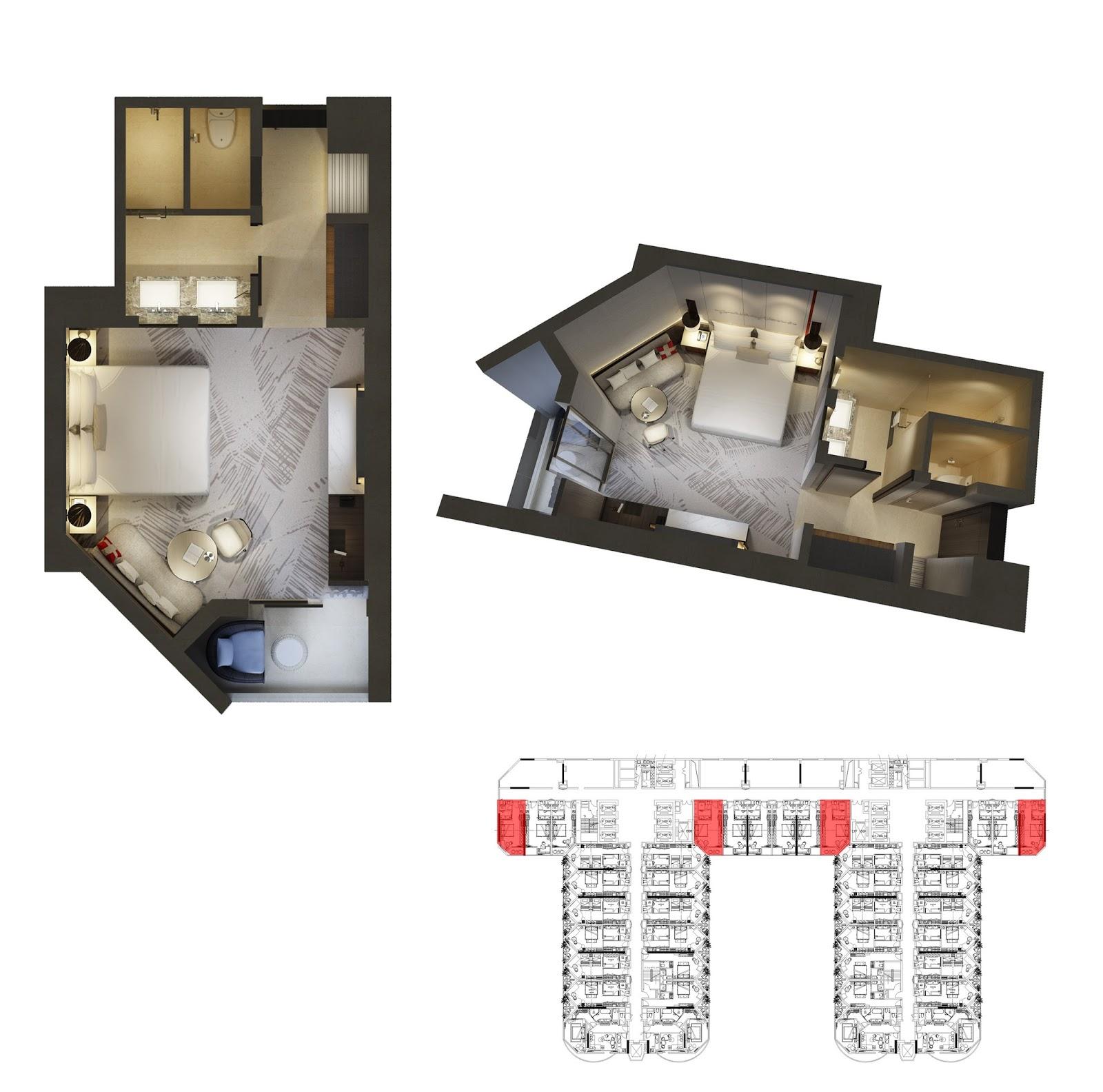 Thiết kế căn hộ số 6 Swisstouches La Luna Resort