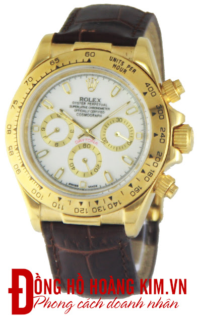 Đồng hồ rolex dây da R126