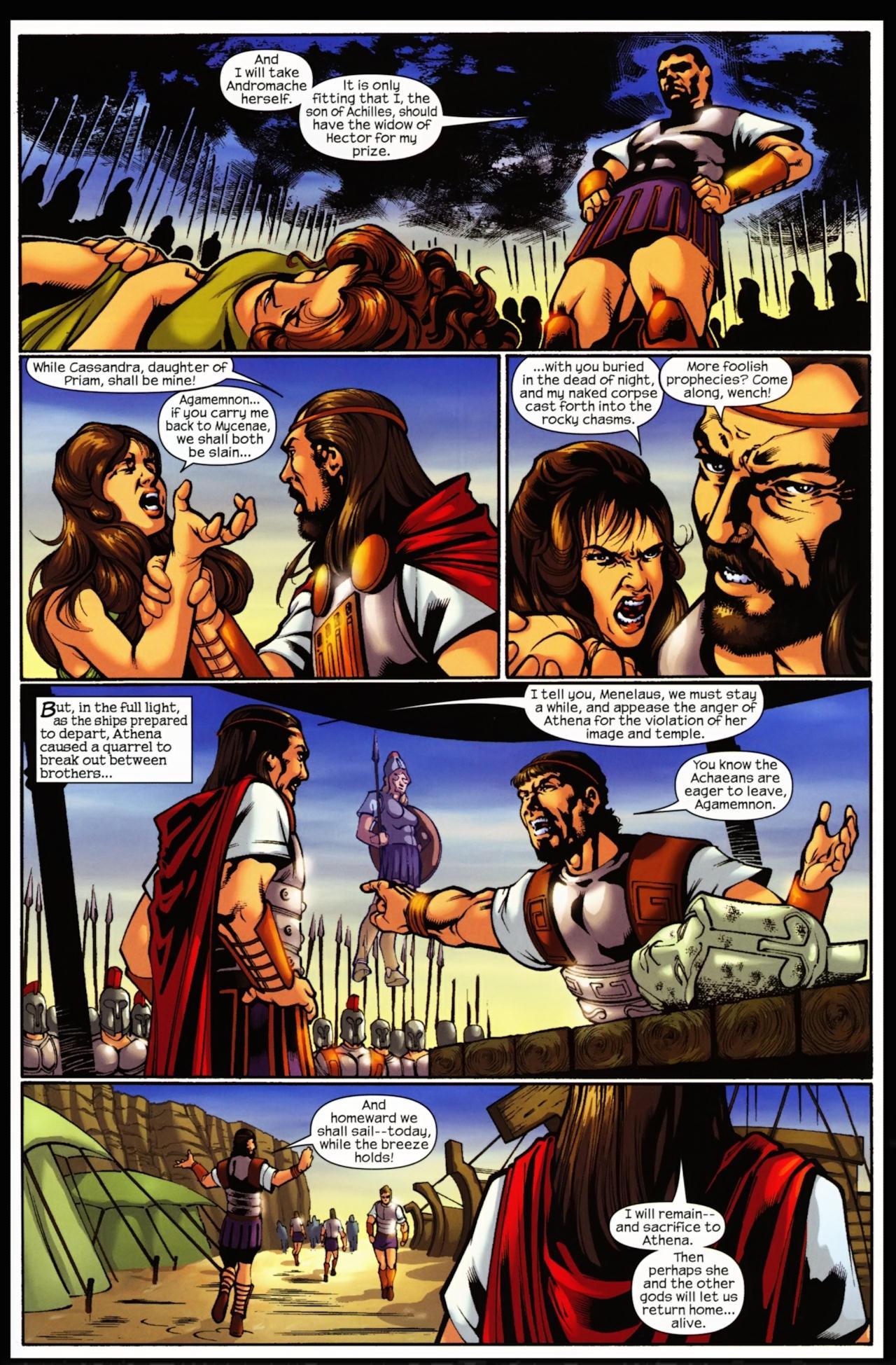 Read online Trojan War comic -  Issue #5 - 20
