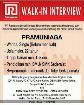 Walkin Interview Ramayana