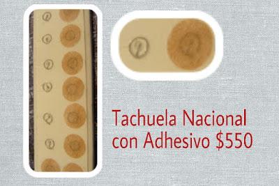 Tachuela Nacional con Adhesivo