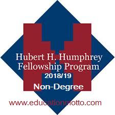 Hubert H. Humphrey Fellowship, Scholarship, International, USA, Non-Degree, Description, Eligibility Criteria, Method of Application, Application Deadline, Field of Study,