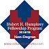 Hubert H. Humphrey Fellowship Program in USA 2018/19