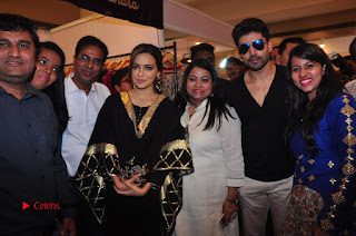 Bollywood Actress Sana Khan Launches Aakrithi Exibition  0335.JPG