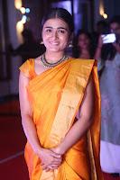 Shalini Pandey in Beautiful Orange Saree Sleeveless Blouse Choli ~  Exclusive Celebrities Galleries 057.JPG