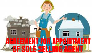 Agreement-Appointment-Sole-Selling-Agent