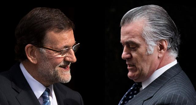 """Barcenas: """"Rajoy conocía las actividades ilícitas de Correa y no las denunció""""."""