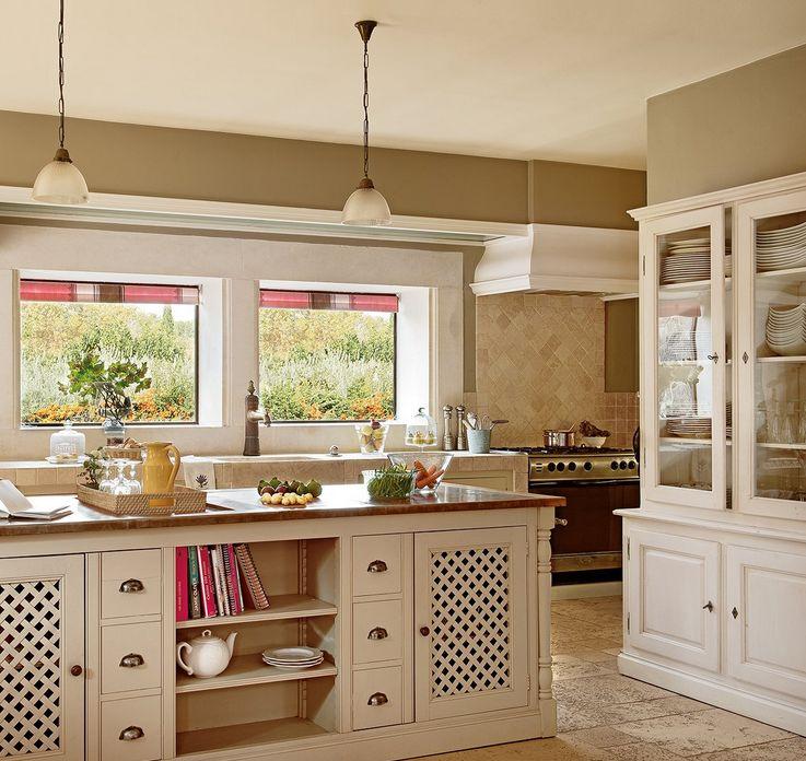 Dep sito santa mariah casa inspira o proven al - Cocinas rusticas de obra pequenas ...