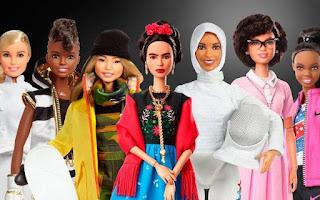 muñecas barbie para el dia de la mujer