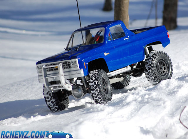 Tamiya High Lift snow