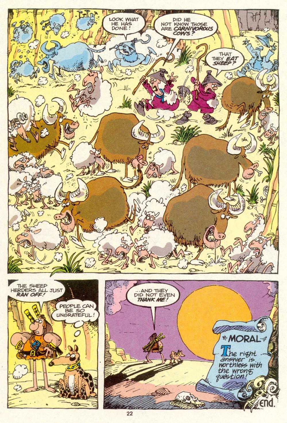 Read online Sergio Aragonés Groo the Wanderer comic -  Issue #88 - 23
