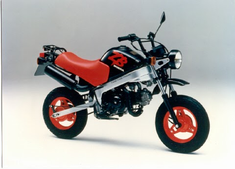 Honda ZB50 bike pictures gallery
