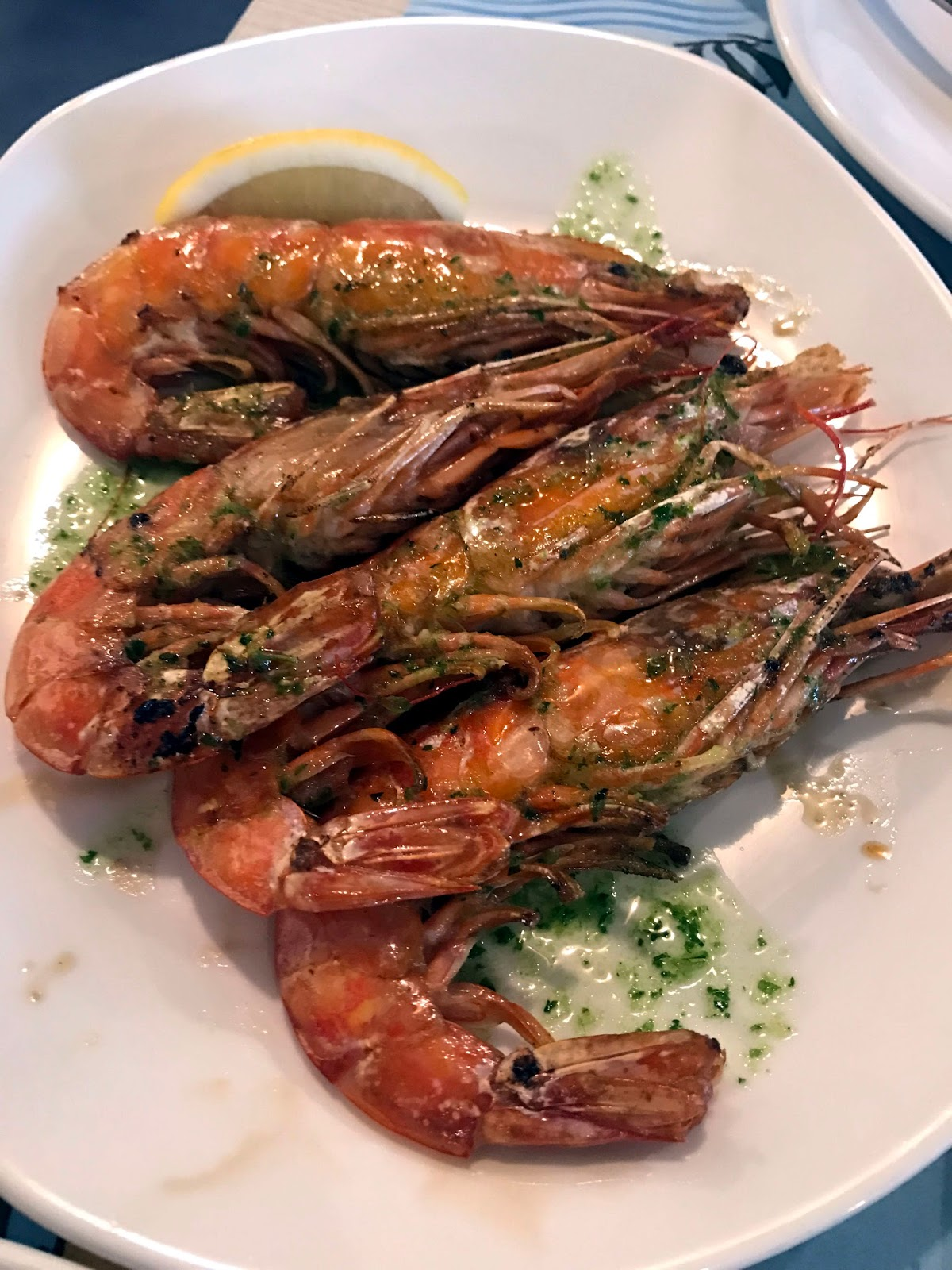 Stitch & Bear - La Paradeta - Grilled prawns