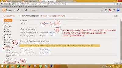 Hướng dẫn cách seo cho Blogspot chuẩn seo