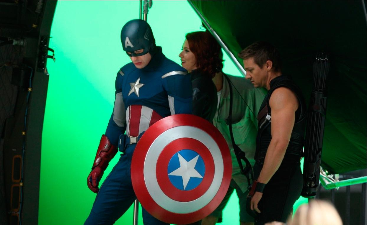 The Avengers: Avengers Captain America, Black Widow Und Hawkeye : Film
