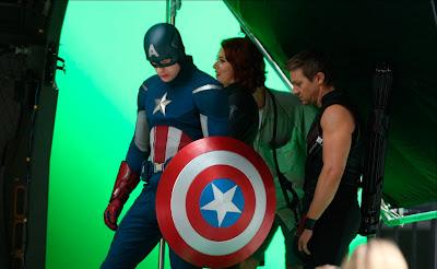 Avengers Film Set