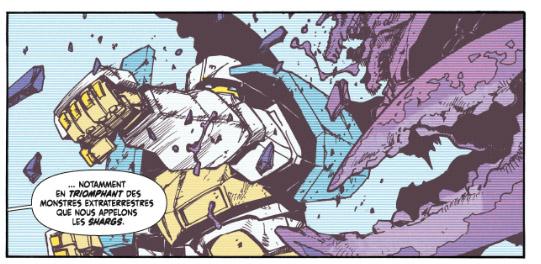 Mech Academy tome 1 - une histoire de Robots géant luttant contre les Shargs