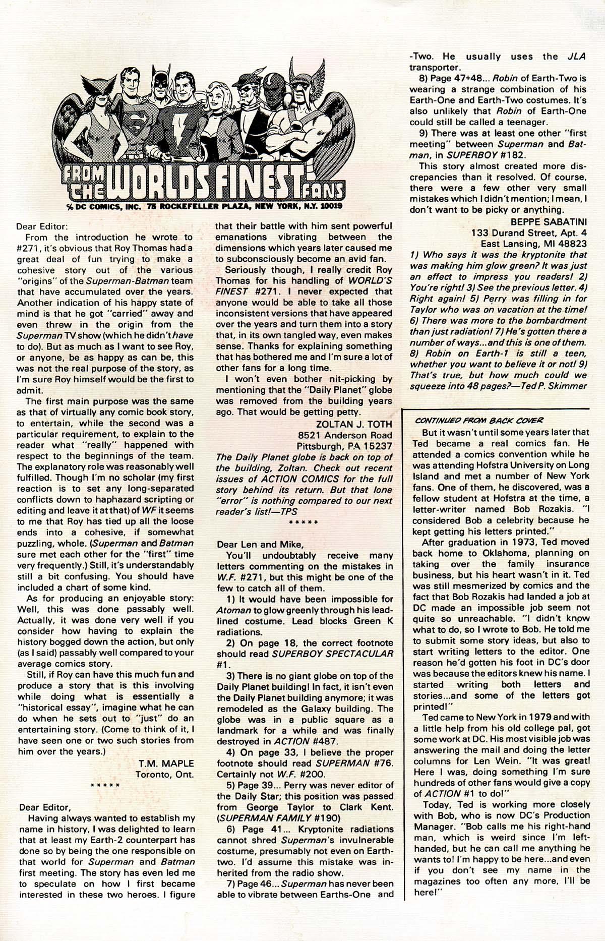 Read online World's Finest Comics comic -  Issue #276 - 51