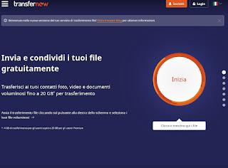 Sito TransferNow