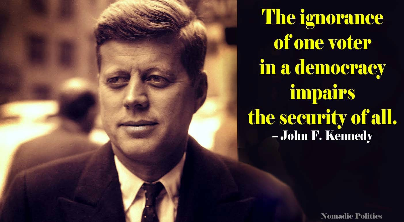John Kennedy Quote