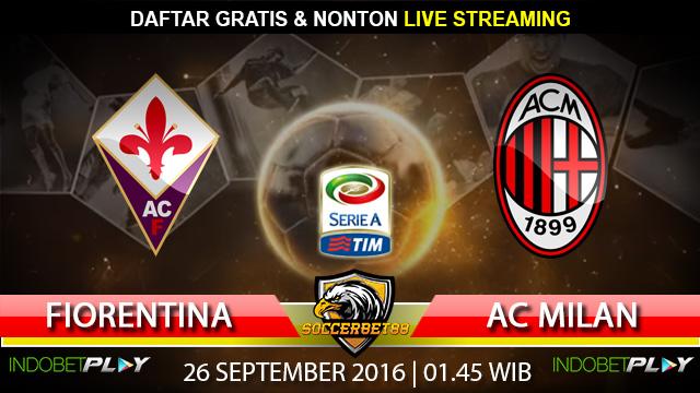 Prediksi Fiorentina vs AC Milan 26 September 2016 (Liga Italia)