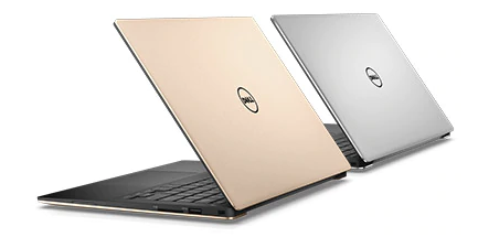 Dell 2017 XPS  Rear view