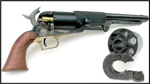Double-dosette pour tir au revolver ROGERS /& SPENCER CAL 44 poudre noire
