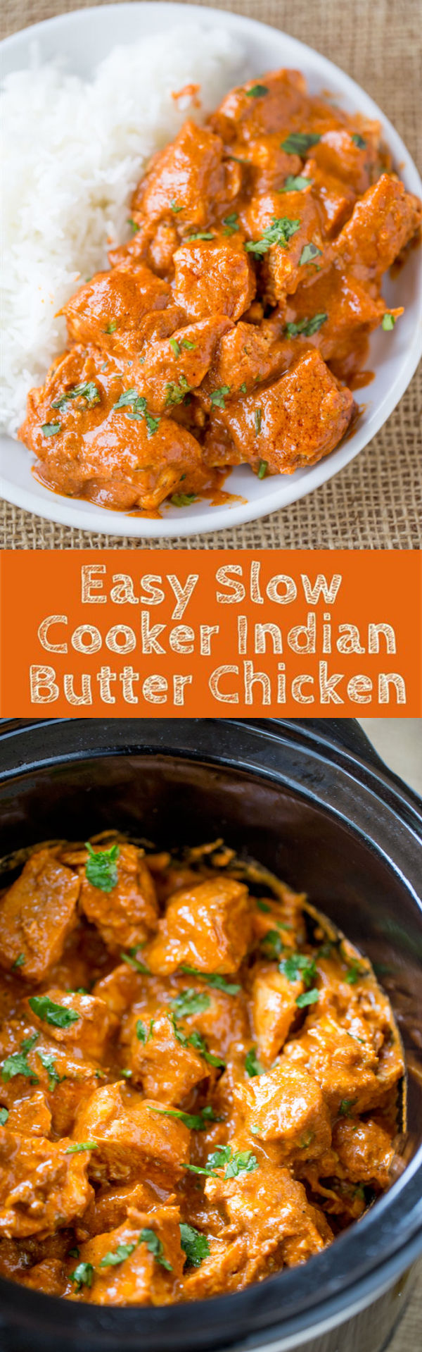 Slow Cooker Indian Butter Chicken - 30 Crock Pot Recipes that you have to try this year 2018 - Lieu.Tech