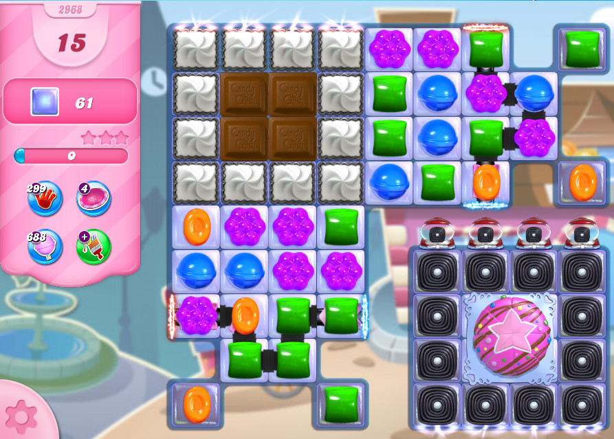 Candy Crush Saga level 2968