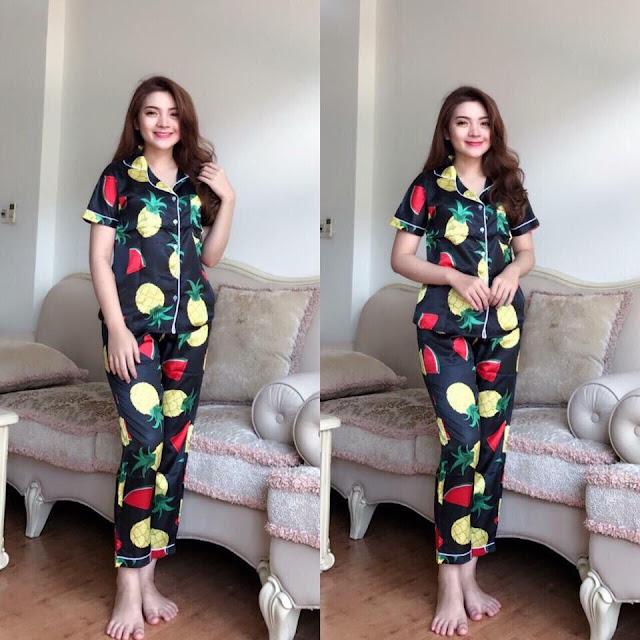 Mua bộ đồ pijama tay ngắn quần dài phi lụa ở đâu bán rẻ đẹp?