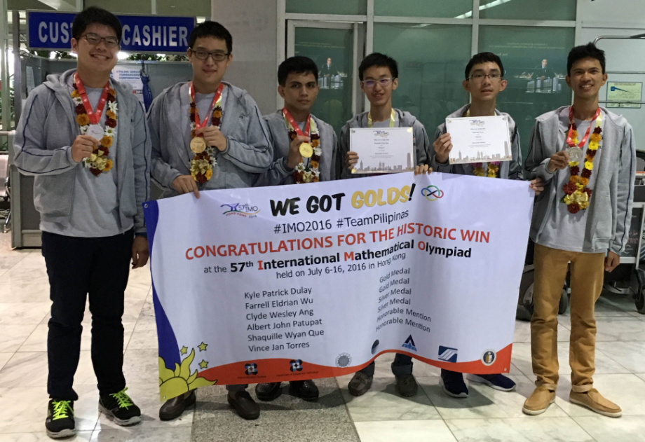 International Math Olympiad, Philippines Gold Medal