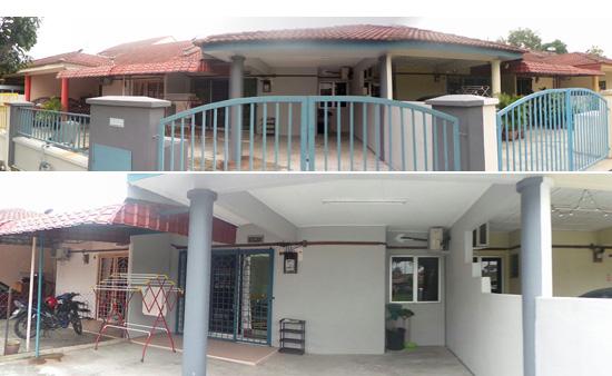 Penginapan Homestay Batu Berendam Melaka